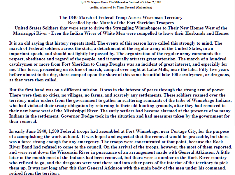 Image of the 1840 Winnebago Removal document