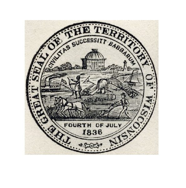 Seal of the Territory of Wisconsin
